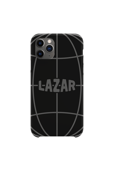Lazar Globe Black Phone Case