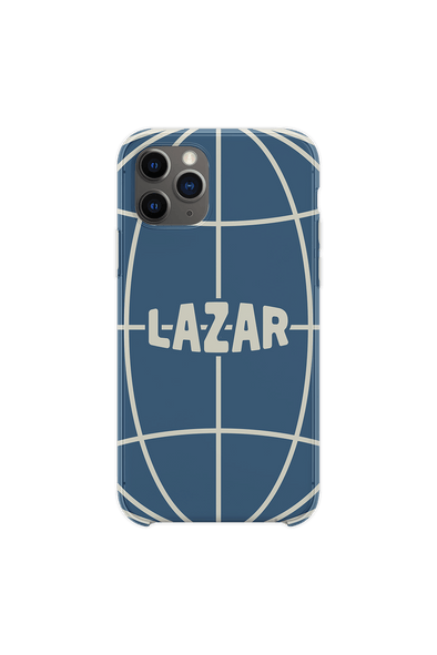 Lazar Globe Slate Blue Phone Case