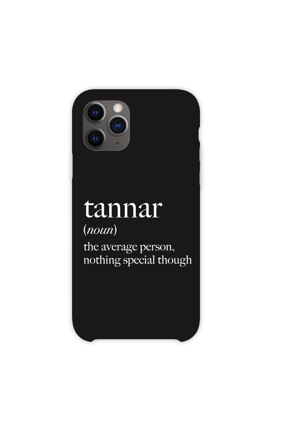 Tannar Eacott: Definition Phone Case
