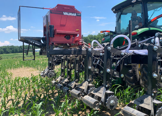 Cover Crop Seeding Field Demonstrations