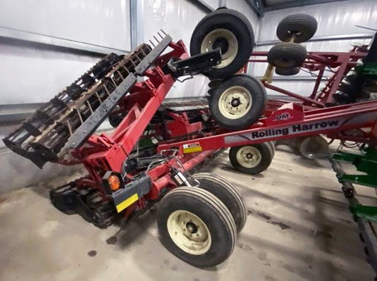Unverferth 1225 Double Rolling harrow/basket
