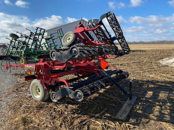 Unverferth 25' Rolling harrow/Basket