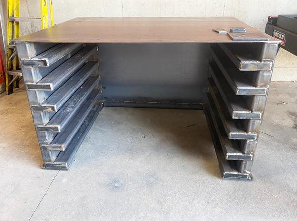teel sheet rack for 4x4 sheets for the Plasma cutter