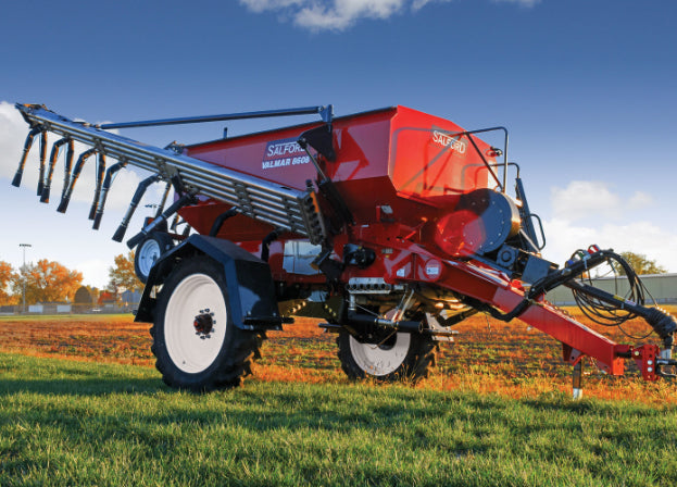 Valmar Airflo 8708 Pull-Type Fertilizer Spreader