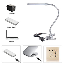 Load image into Gallery viewer, Clip-on LED Desk Lamp