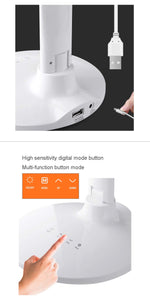 Foldable Digital Display Night Light