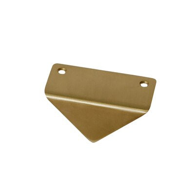Golden Brass Triangle Cabinetry Pull Knob