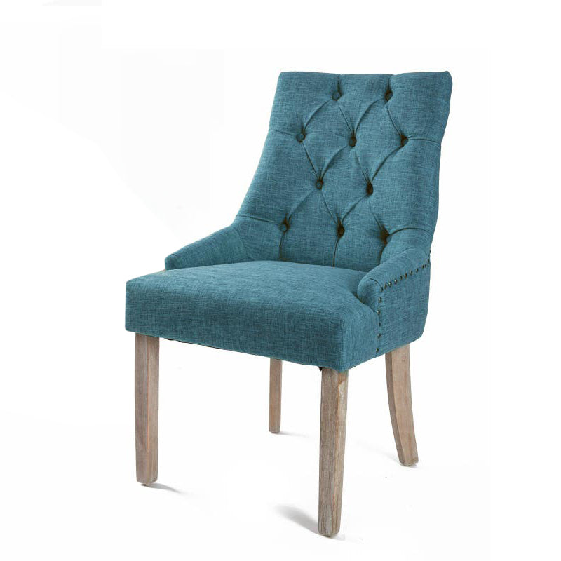 Blue French Provincial Dining Chair Australia