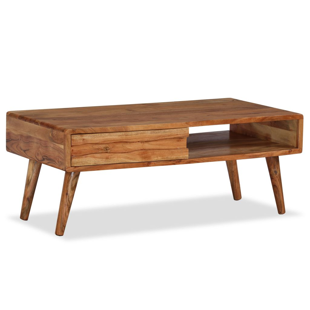 Elena Acacia Wood Coffee Table