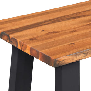 Renee Acacia Wood Dining Bench