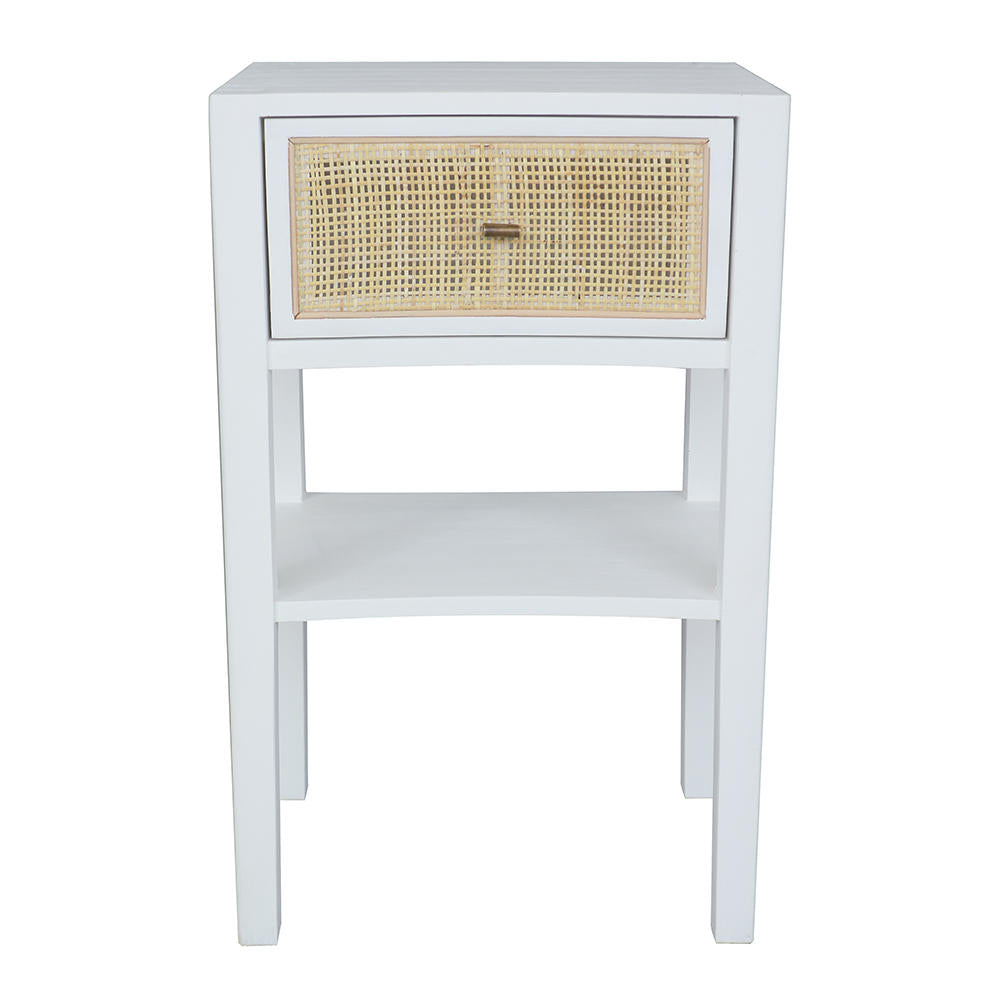 Shoal Rattan Bedside Table