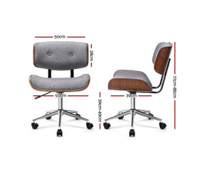 Brendon Bentwood Office Chair (Grey)