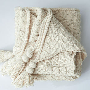 Lizzie Knitted Blanket