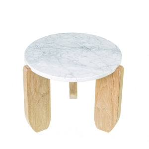 Cali Marble Side Table (Made To Order)