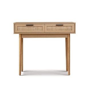 Rattan Console Table Drawer Storage Hallway Table Australia