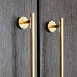 Kim Golden Brass Cabinetry Handle