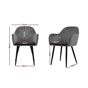 Maddox Dining Chairs (Set Of 2)