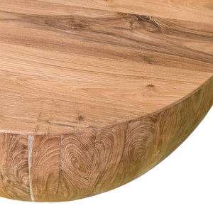 Nuri Round Teak Wood Coffee Table | Exclusive