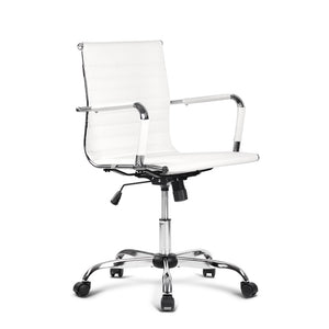 Sacha Office Chair (White)