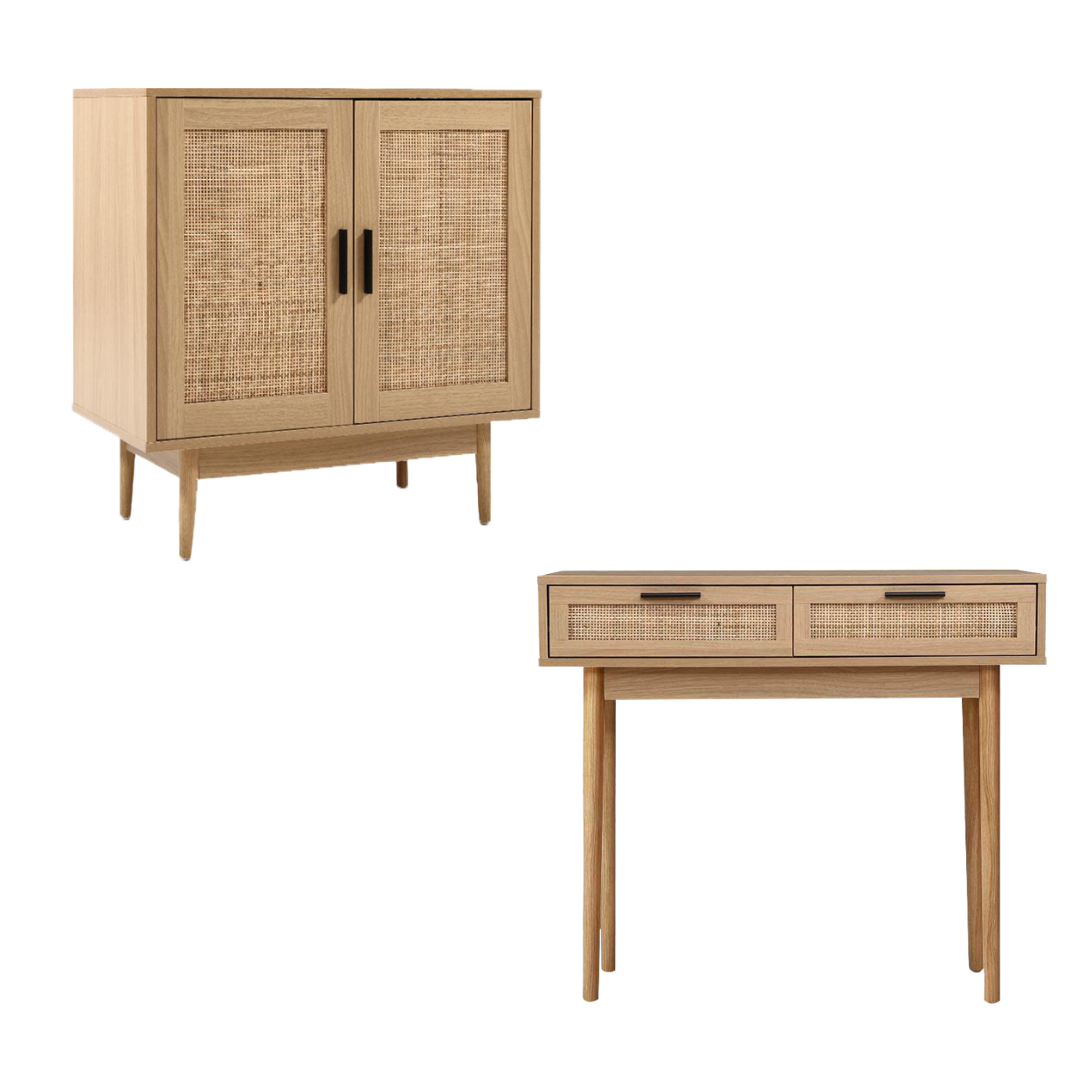 Rattan Sideboard & Console Table Package