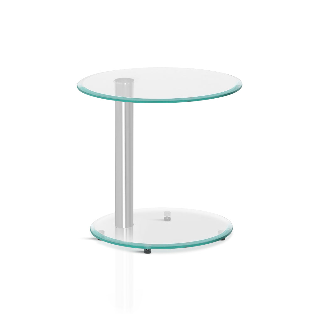 Tempered Glass Coffee Table Tempered Glass Top 2 Tier