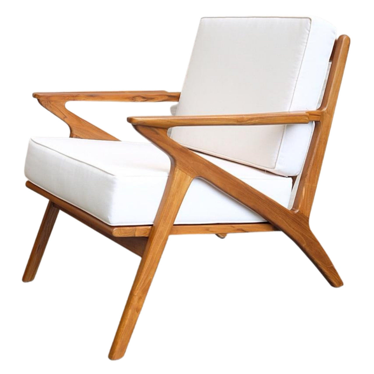 Vivo Teak Lounge Chair (Made To Order)