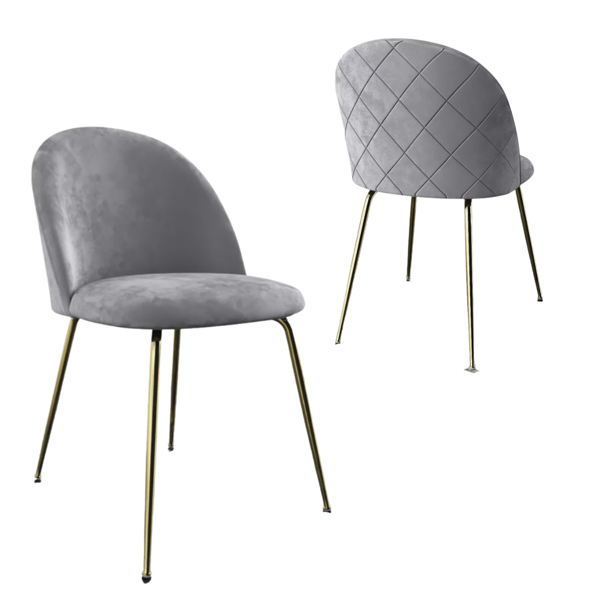 Frankie Dining Chairs (Set Of 2 - 3 Colours)