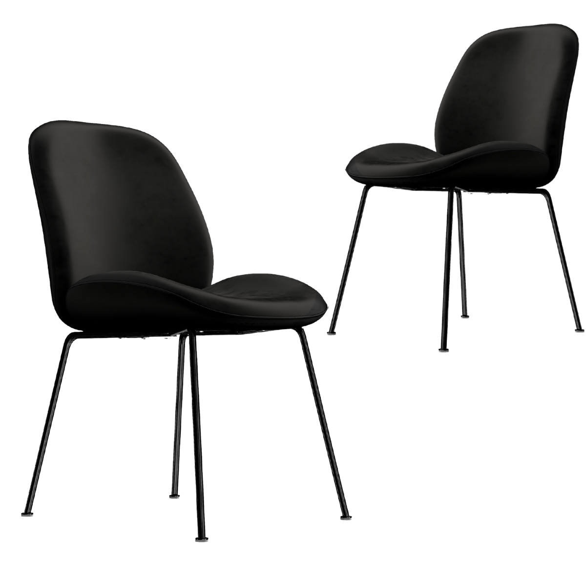 Avalon Dining Chairs (Set Of 2 - 3 Colours)