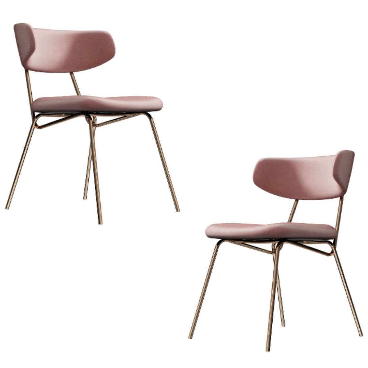 Daniella Dining Chairs (Set Of 2 - 3 Colours)