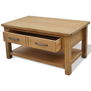Oak Coffee Table Wooden Coffee Table Wooden Oak Coffee Table Living Room Furniture