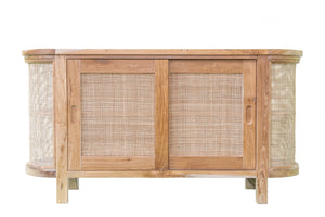 Puteri Rattan Teak Wood Buffet Unit | Exclusive