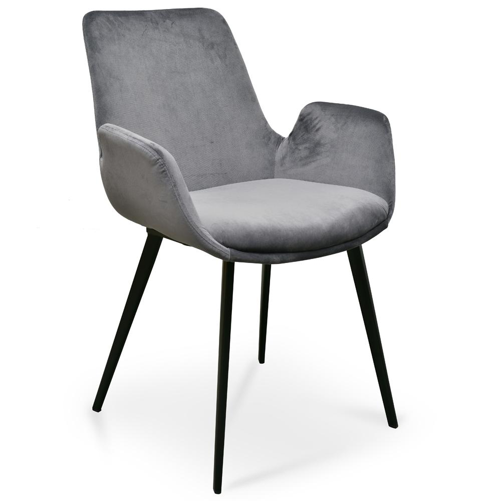 Velvet Grey Dining Chair Dark Velvet Dining Chair Australia