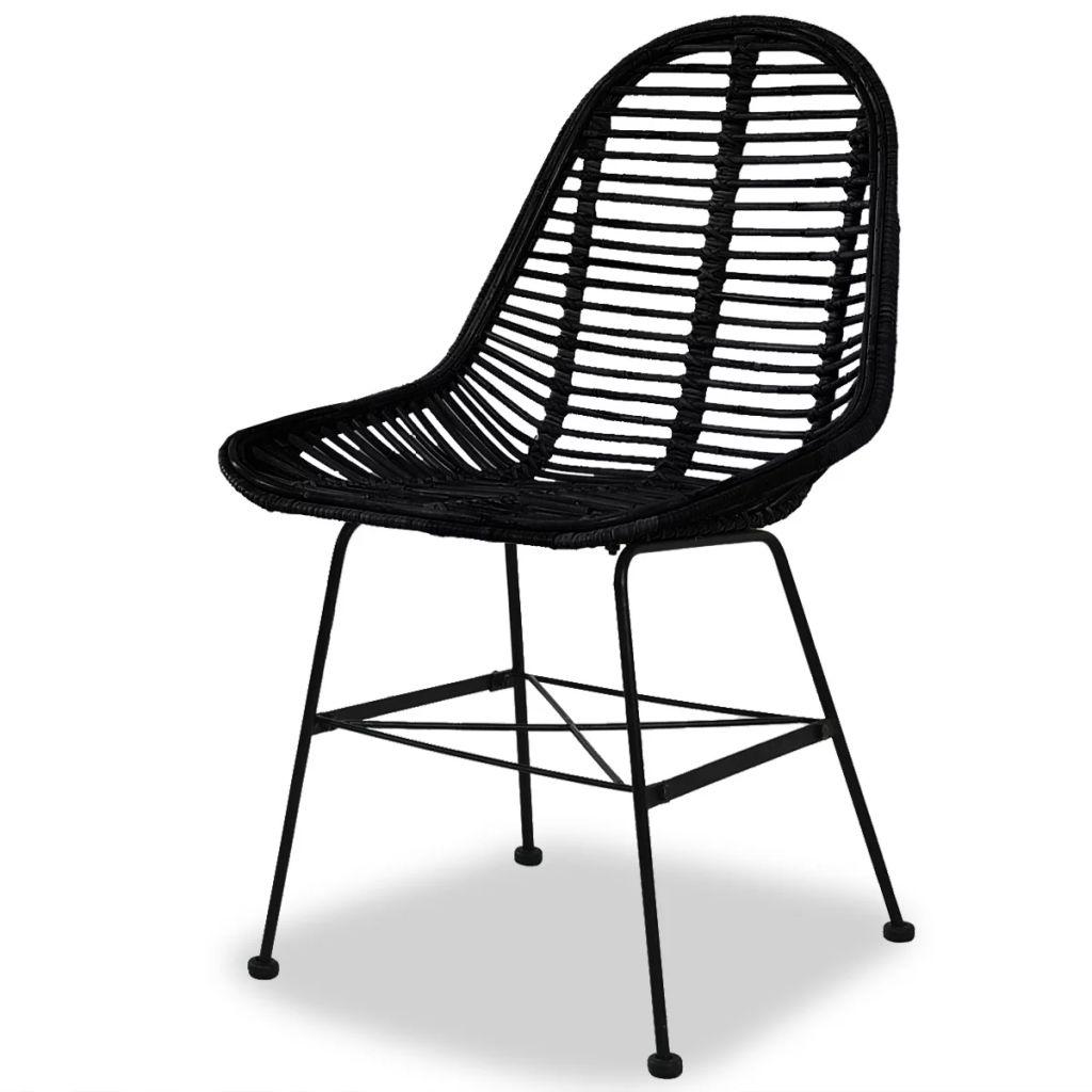 Black Rattan Dining Chair Rattan Furniture Australia