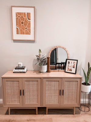 Rattan Console Table, Sideboard & Side Table Package