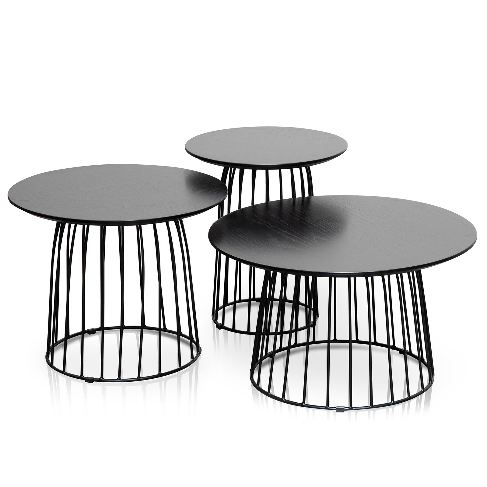 Calico Side Table Set