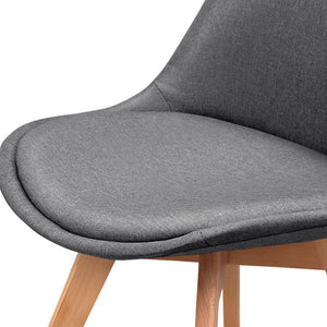 Grey PU Leather Dining Chair Grey Dining Chair Contemporary Dining Chair Australia