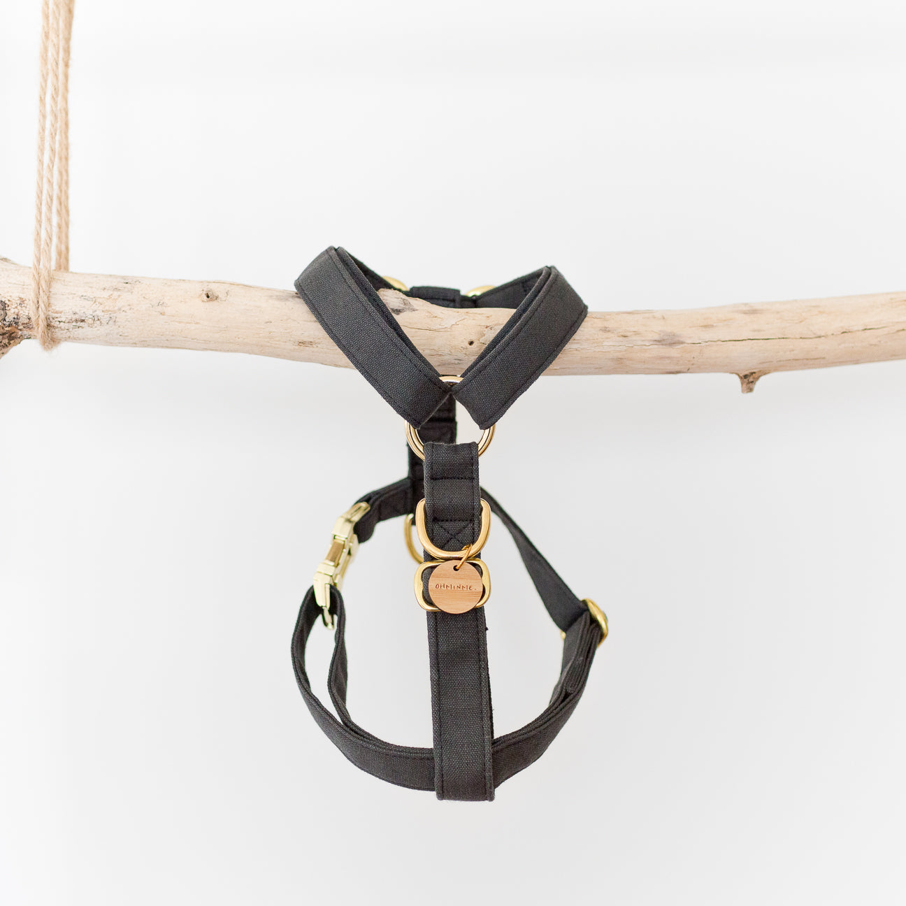 Leka CARBON Harness | Hemp & Organic Cotton
