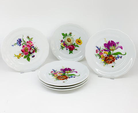Σετ πάστας Meissen Flower Set of 6