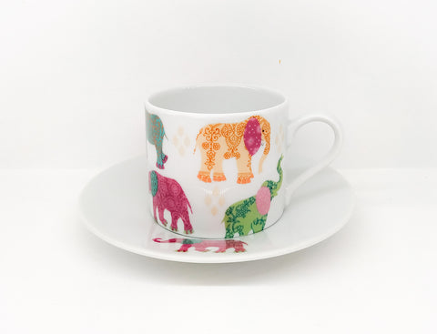 Φλιτζάνι Cappuccino Elephants