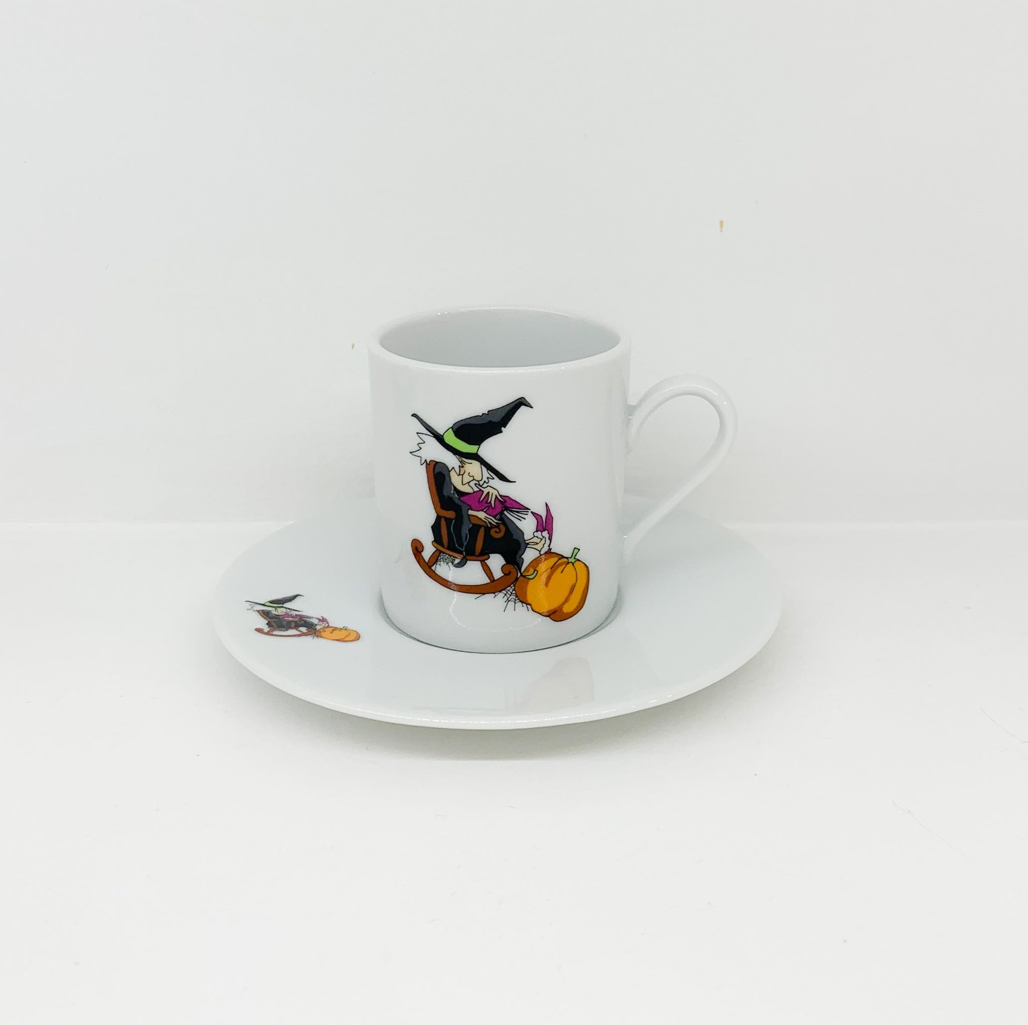 Φλιτζάνι Espresso Halloween Witche design 2