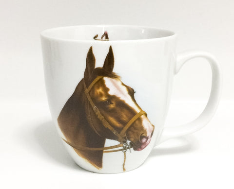 Κούπα Mug151 Horse Head Brown