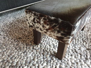Load image into Gallery viewer, Salt & Pepper Angled Leg Footstool