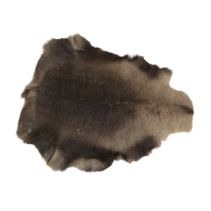 Reindeer Hide - Dark Brown