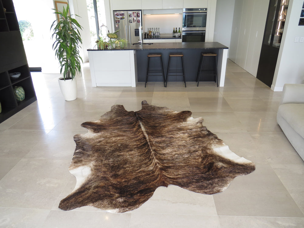 Load image into Gallery viewer, Super Cowhide Mid Tone Brindle