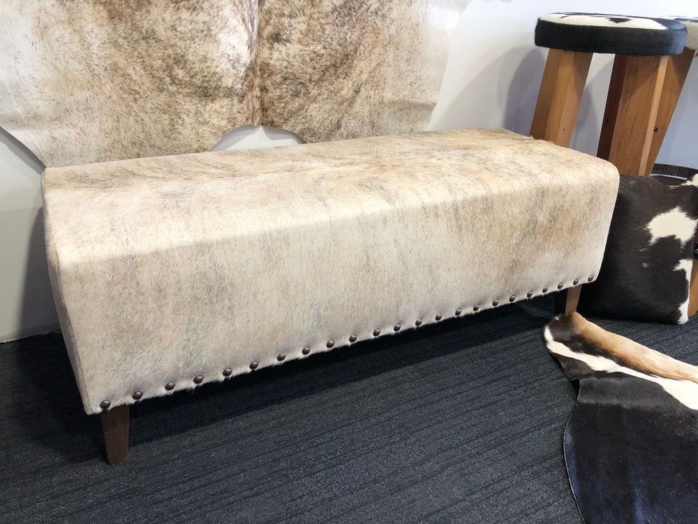 Cream Brindle Lifestyle Domed Bench