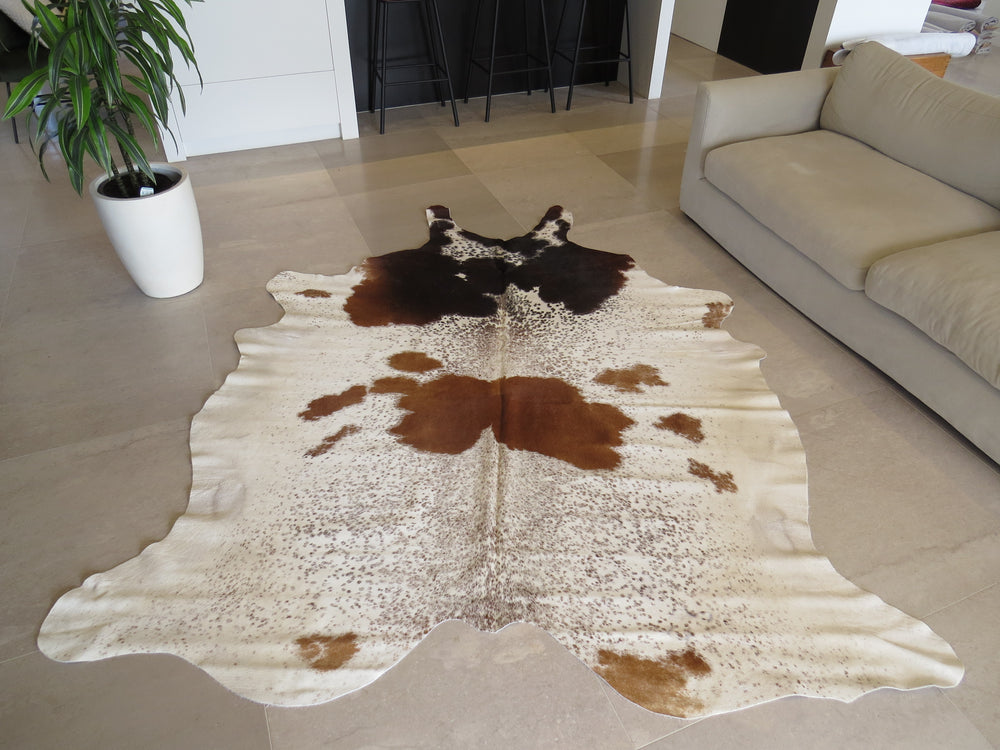 Super Cowhide Salt & Pepper Brindle