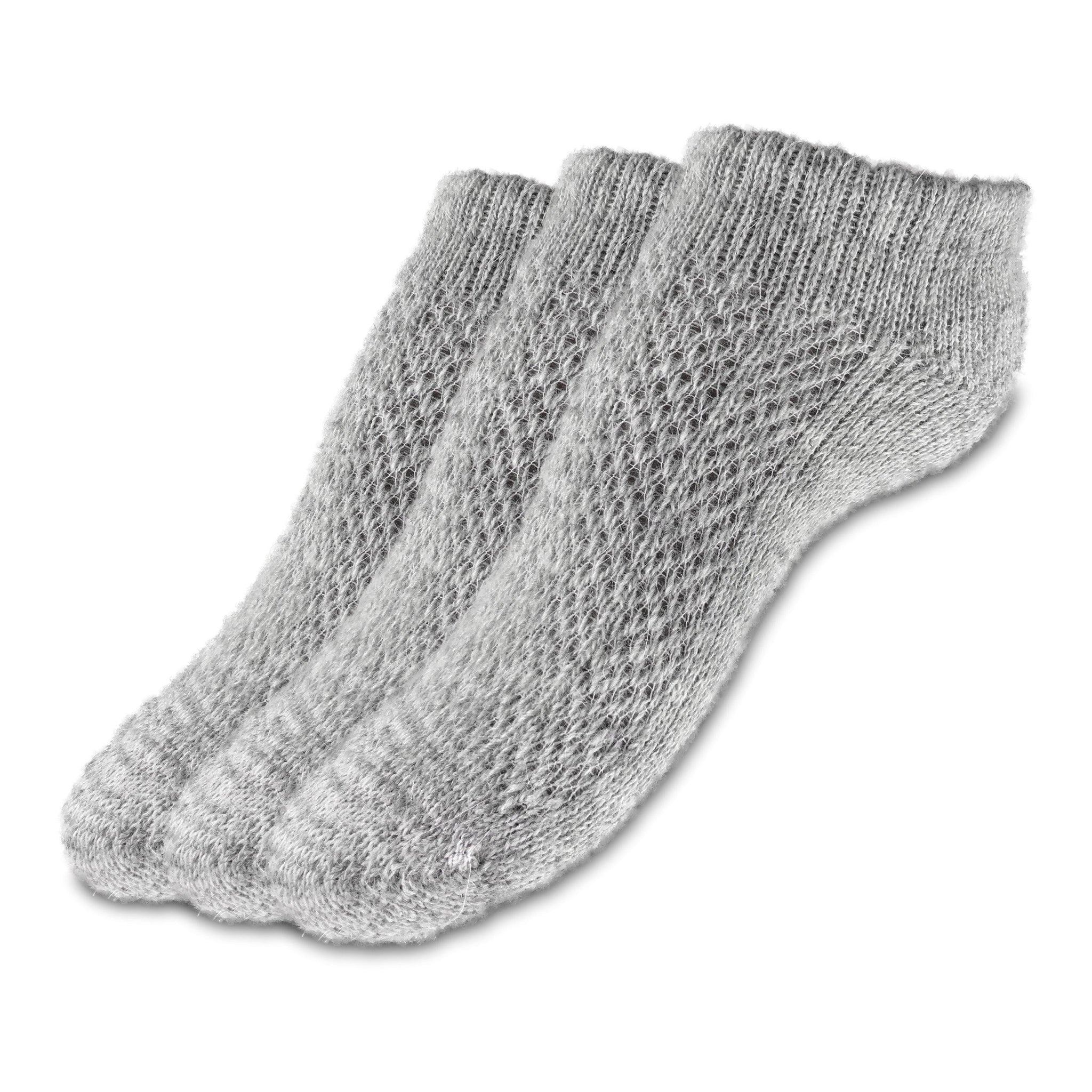 Warm Soft Camel Wool Fluff Socks for Cold Weather Winter