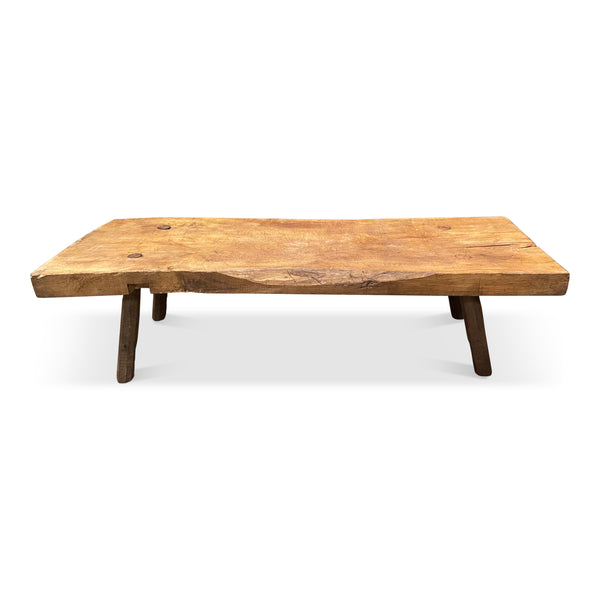 Butcher Block Coffee Table • No.146