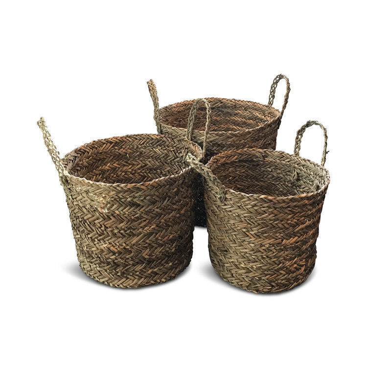 Seagrass Handle Baskets