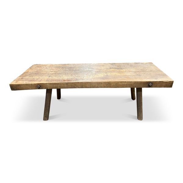 Butcher Block Coffee Table • No.21